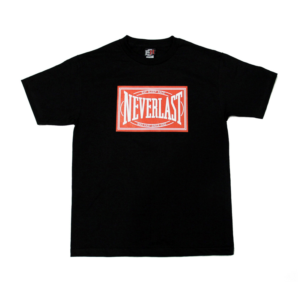 Neverlast T-Shirt | Black/Red