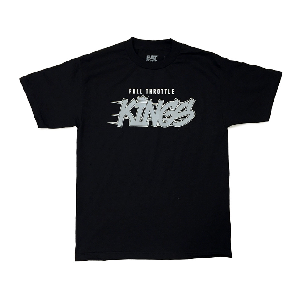 Full Throttle Kings 2 T-Shirt | Black/Grey