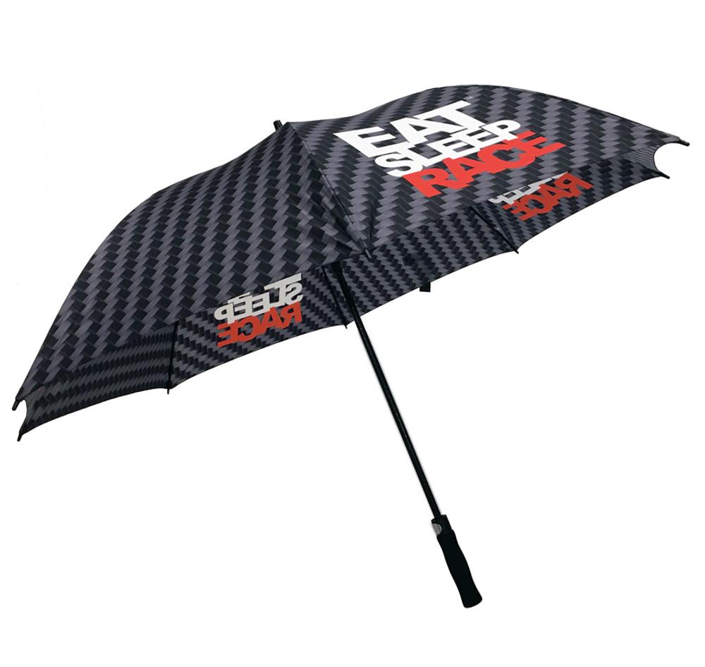 Carbon Logo Pattern Umbrella