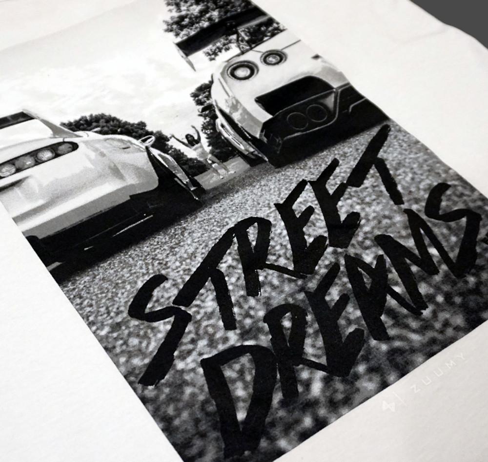 Street Dreams by Zuumy Tank Top | White