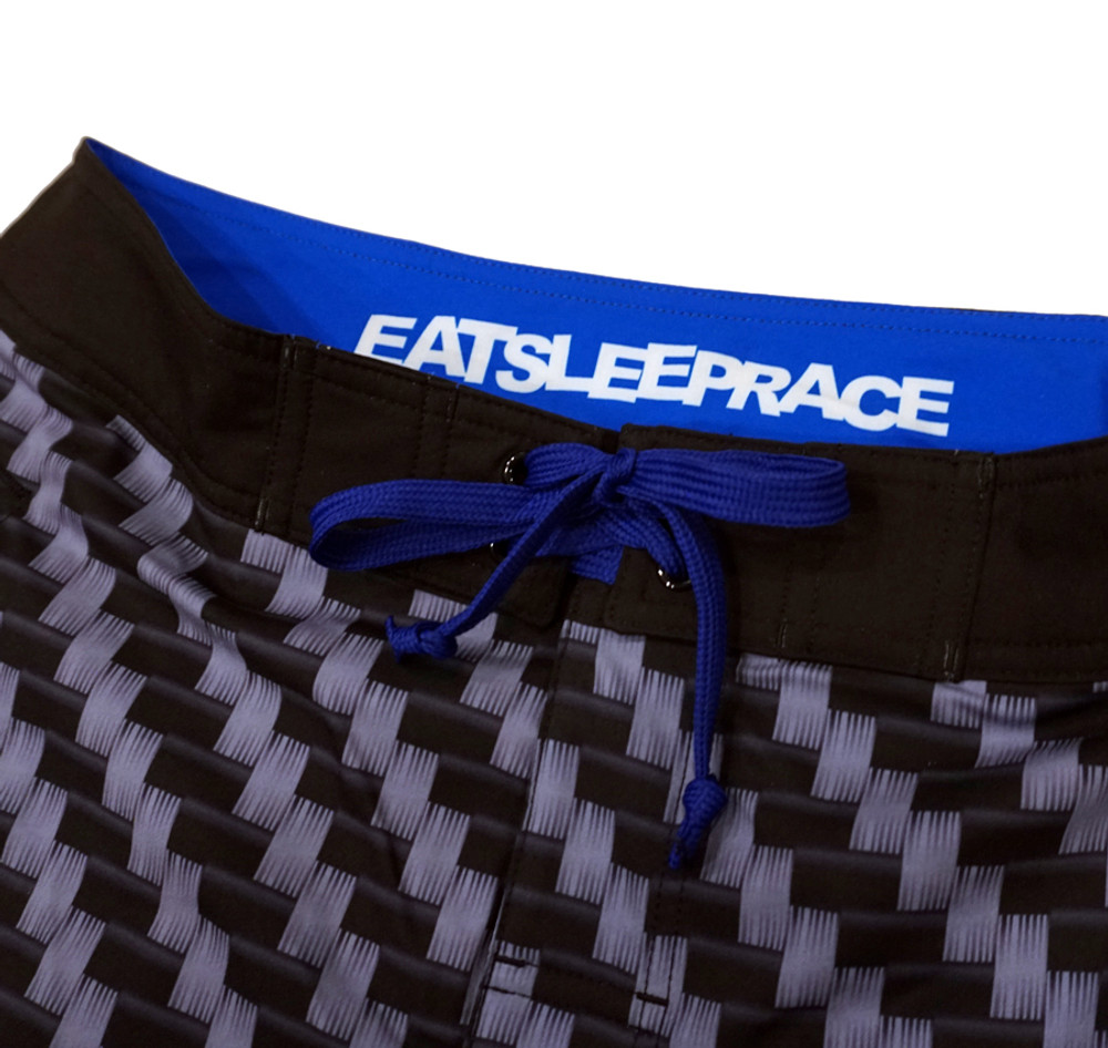 Active Shorts | Carbon Fiber Blue