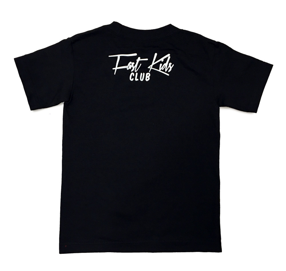 Fast Kids Club Sparky T-Shirt | Black