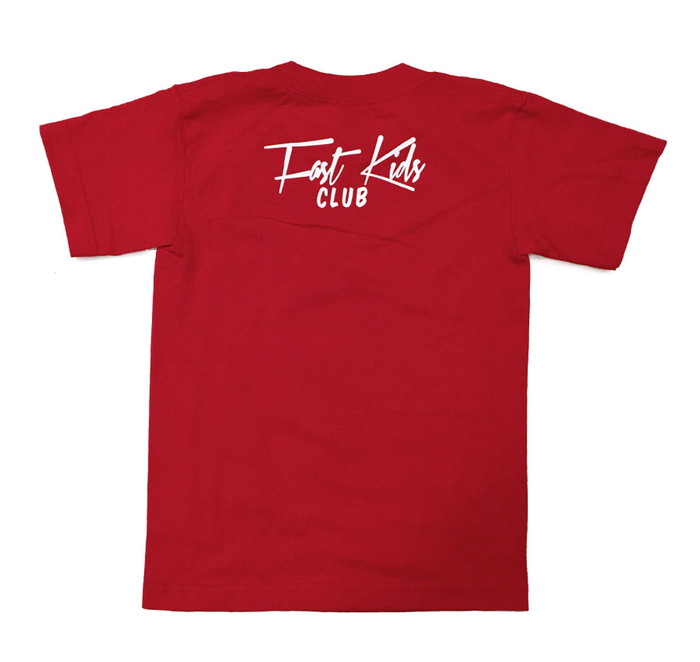 Fast Kids Club Sparky T-Shirt | Red