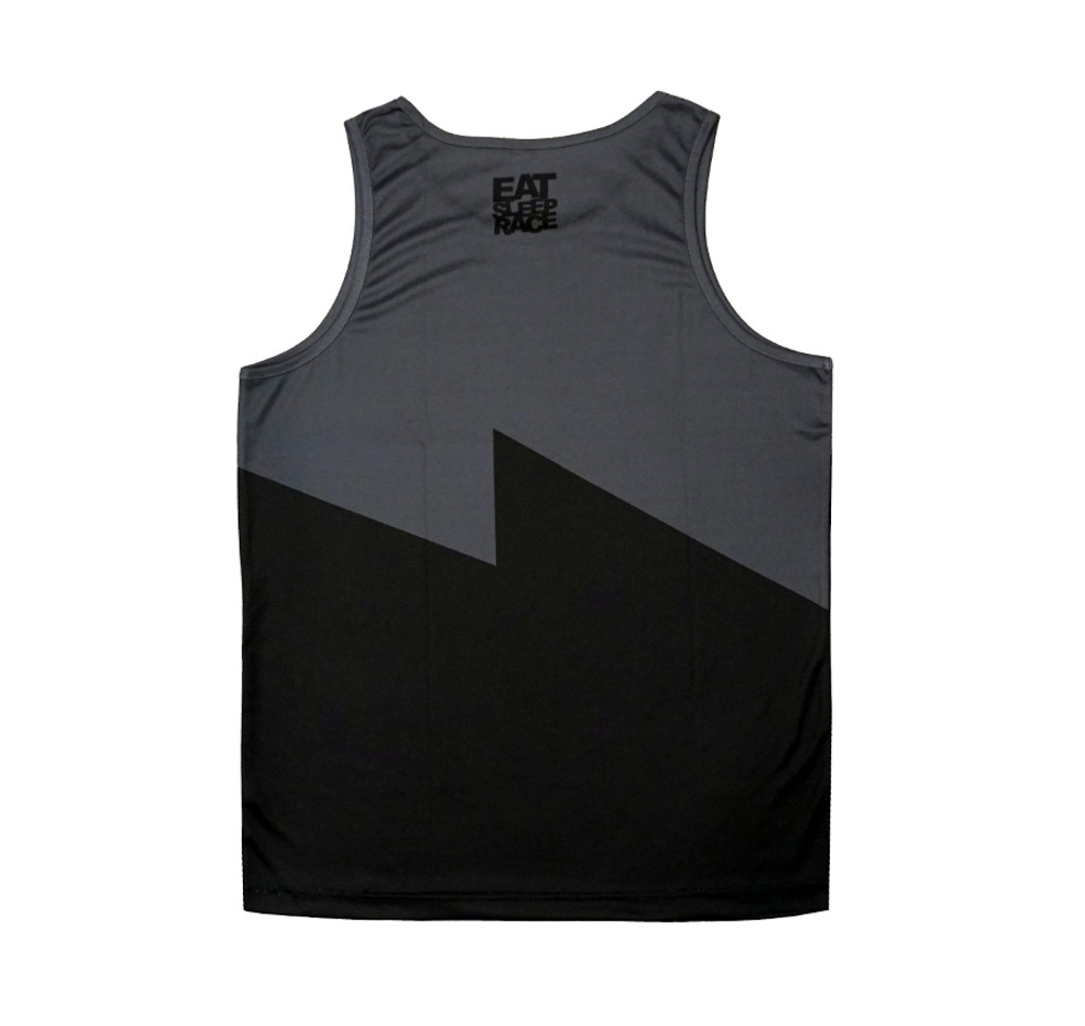 Bolt Performance Tank Top | Black/Grey