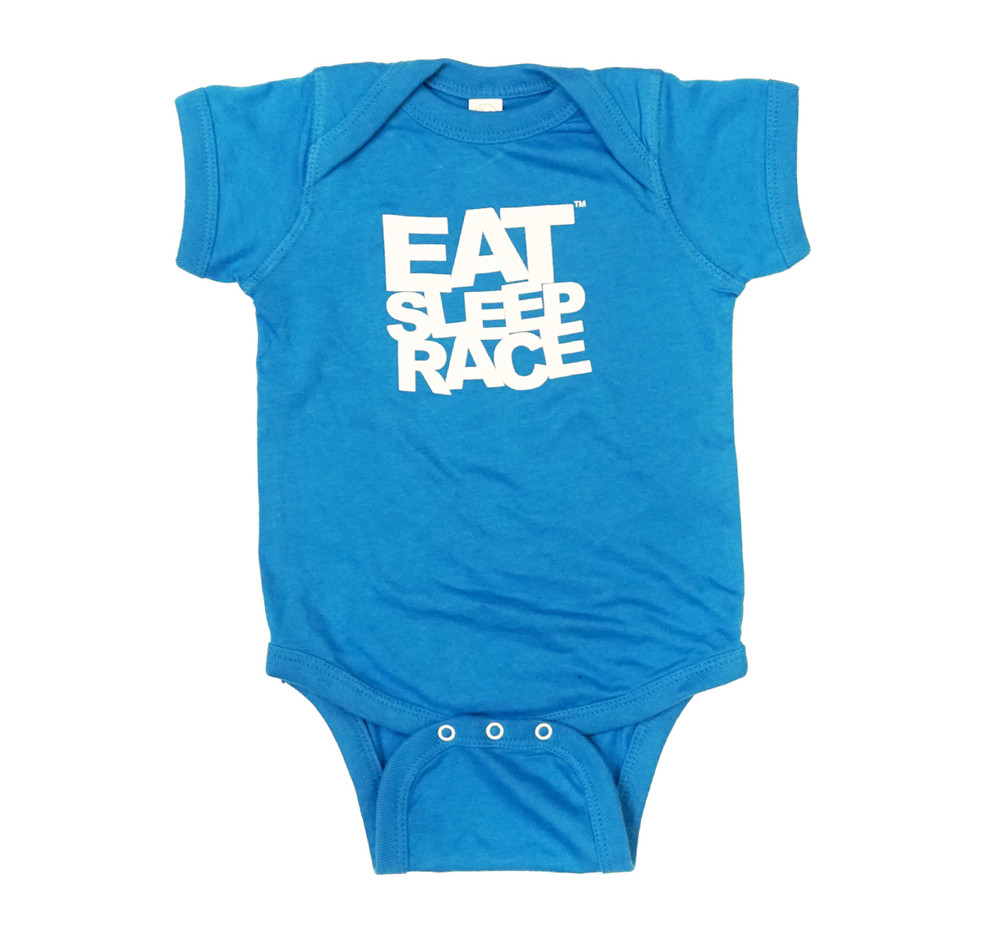 Infant One Piece Logo | Laser Blue