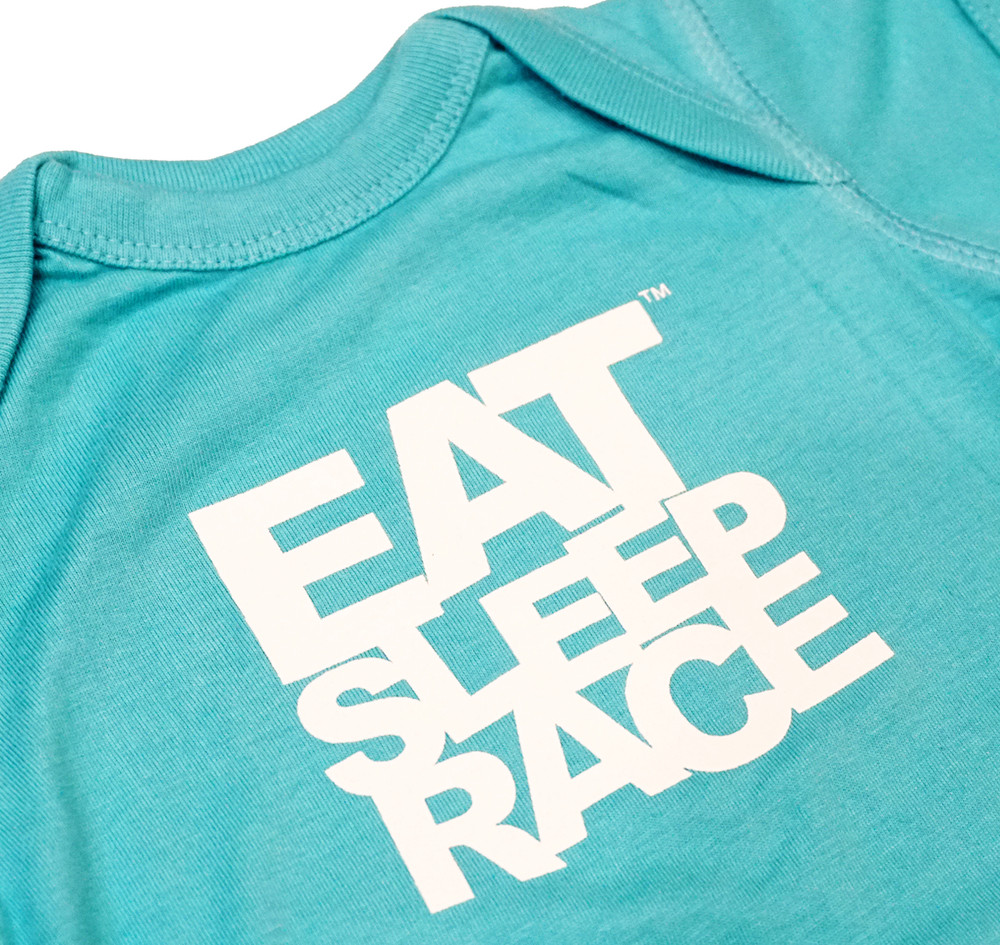 Infant One Piece Logo   Teal