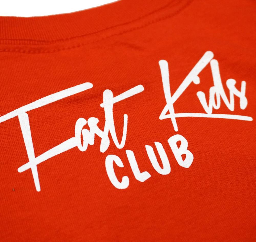 Fast Kids Club Piston Pete T-Shirt   Red