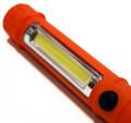 2 in 1 LED Flashlight w/ Magnetic Base   Red