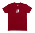 Logo Square T-Shirt | Red