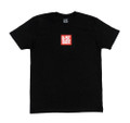 Logo Square Lightweight T-Shirt | Black/Red