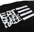 ESR Horizontal Flag Lightweight T-Shirt | Black