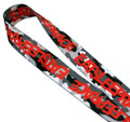Lanyard Logo | Snow Camo/Red