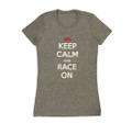 Ladies Keep Calm Shirt | Grey