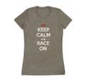 Ladies Keep Calm Shirt | Grey