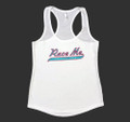 Ladies Race Me Tank Top | White