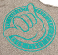 Good Vibes Tank Top | Grey/Teal
