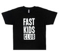 Fast Kids Club Logo T-Shirt   Black