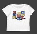 Kids Blocks T-Shirt | White