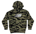 Pull Over Flag Hoodie | Tiger Camo