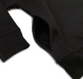 Toddler Logo Square Pull Over Hoodie   Black/White