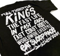 Full Throttle Kings 3 T-Shirt | Black/White