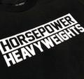 Horsepower Heavyweights 2 T-Shirt | Black