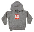 Toddler Logo Square Pull Over Hoodie | Grey/Red