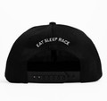 Kids Fast Kids Club Logo Snapback Hat | Black