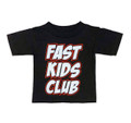 Fast Kids Club Comics T-Shirt | Black/Red