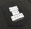 Lock It Up Pocket T-Shirt | Black