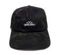 Knuckle Wrench Sport Strapback Hat   Black Multicam