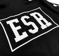 Pull Over Hoodie ESR Script | Black/Red
