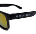 FKC Kids Sunglasses | Black/Gold Iridium (UV400)