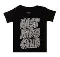 Fast Kids Club Comics T-Shirt | Black/Cement