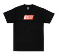 Turbo Speedlines 2 T-Shirt | Black/Red
