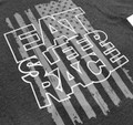 ESR Spark Flag Lightweight T-Shirt | Charcoal