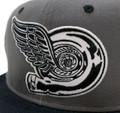 Turbo Wing Snapback Hat | Grey/Black