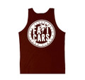 Bolt Palm Lightweight Tank Top | Maroon