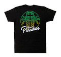 Racer's Paradise Lightweight T-Shirt | Black/Green