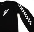 Flag Long Sleeve Shirt   Black