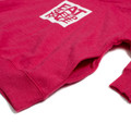 Toddler Logo Square Pull Over Hoodie   Pink/White