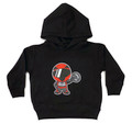 Toddler Racer Pull Over Hoodie | Black