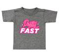 Kids Pretty Fast T-Shirt | Grey