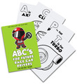 ABC's For Future Race Car Drivers Coloring Book