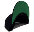 Bolt Palm Snapback Hat   Black/White