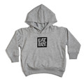 Toddler Logo Square Pull Over Hoodie | Grey/Black