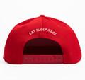 Kids Fast Kids Club Logo Snapback Hat | Red