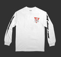 Logo Triangle Long Sleeve Shirt | White