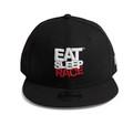 Kids Logo New Era 9FIFTY Snapback Hat | Black/Red