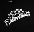 Knuckle Wrench 2 T-Shirt   Black